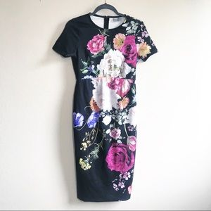 ASOS floral midi dress! Great condition